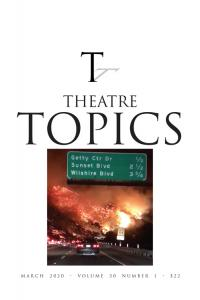 Theatre Topics cover